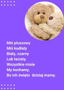 wierszy misie